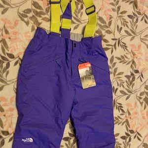 Purple onesie snow-pants size 10-12 for Girls!